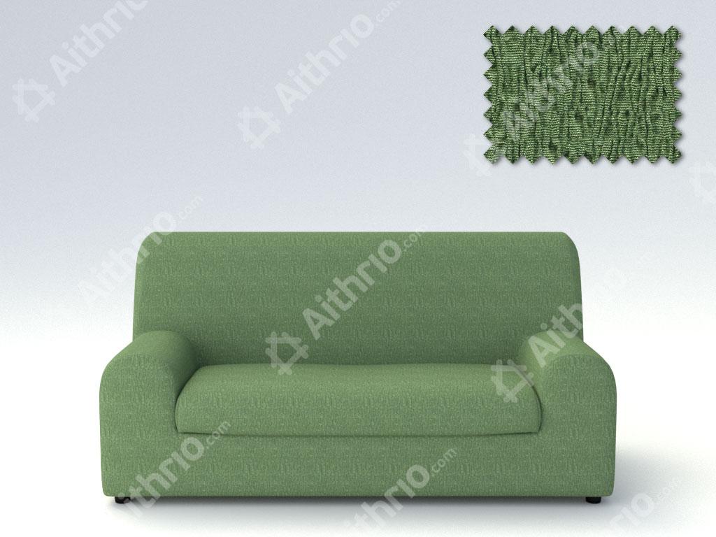 Ελαστικά καλύμματα καναπέ Ξεχωριστό Μαξιλάρι Valencia-Τριθέσιος-Πράσινο-10+ Χρώματα Διαθέσιμα-Καλύμματα Σαλονιού