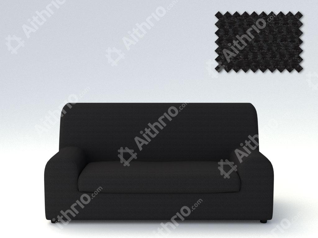 Ελαστικά καλύμματα καναπέ Ξεχωριστό Μαξιλάρι Bielastic Viena-Τετραθέσιος-Μαύρο-10+ Χρώματα Διαθέσιμα-Καλύμματα Σαλονιού