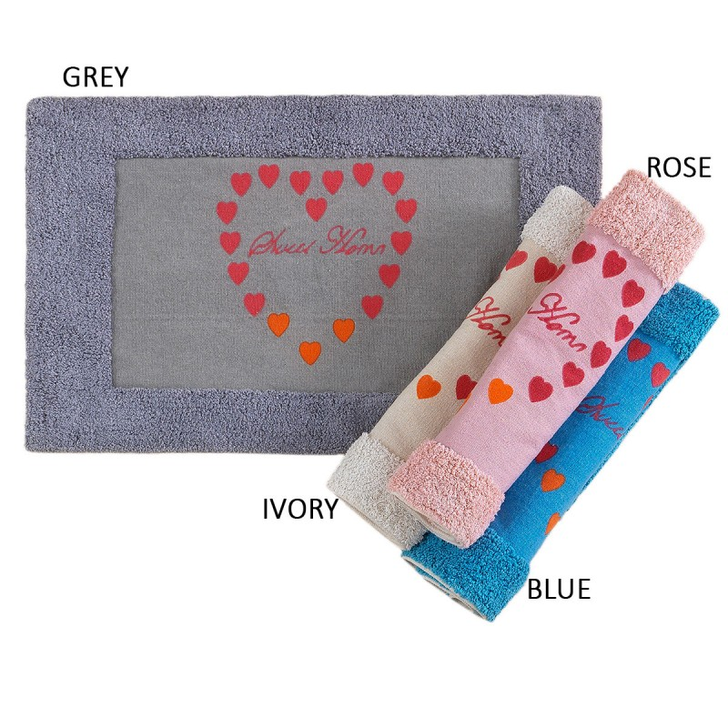 Πατάκι Μπάνιου (50×80) Palamaiki Bathmat Collection Sweet Gray