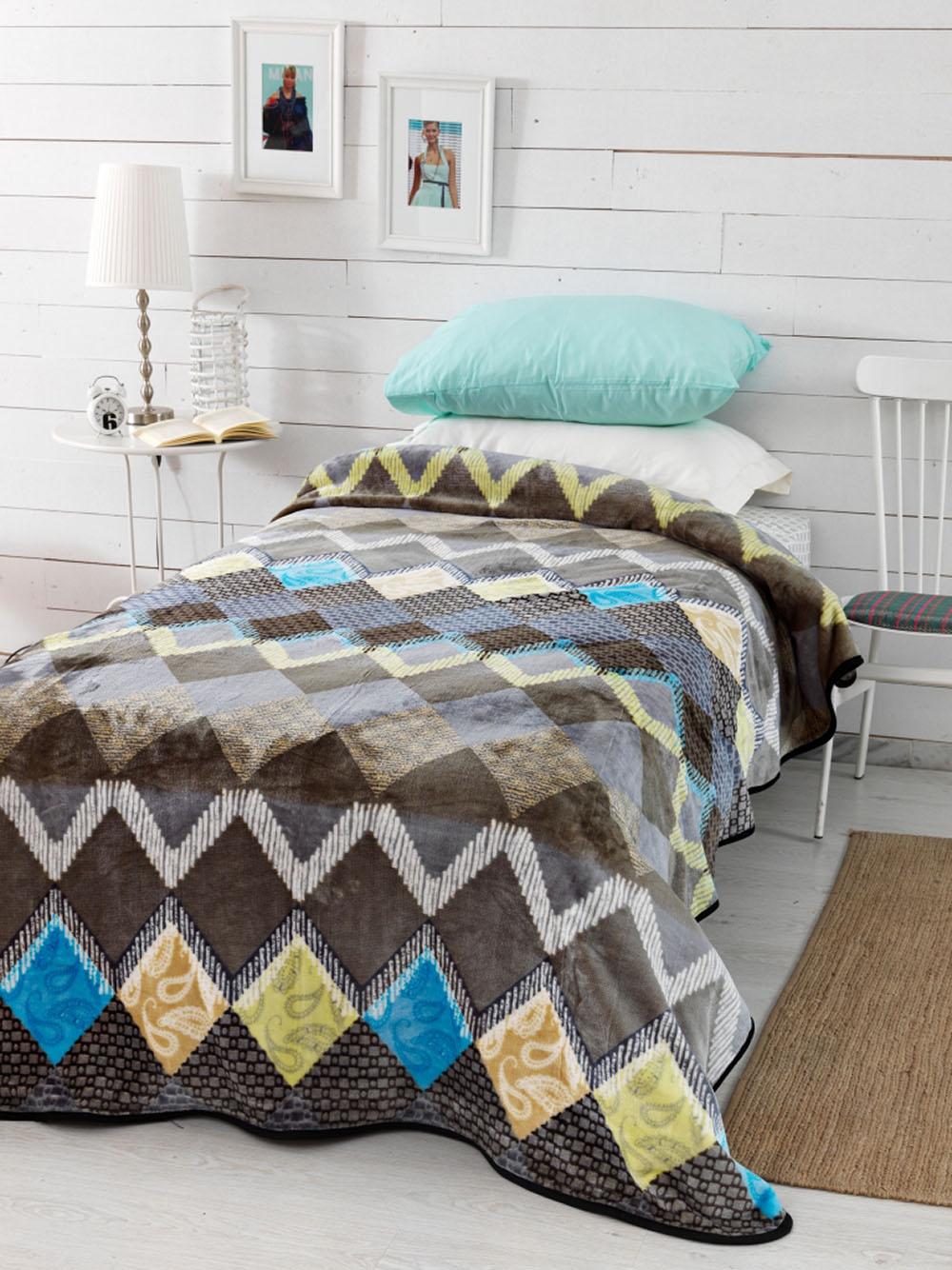 Κουβέρτα Fleece Υπέρδιπλη 220×240 SY-246 Palamaiki Silky Collection