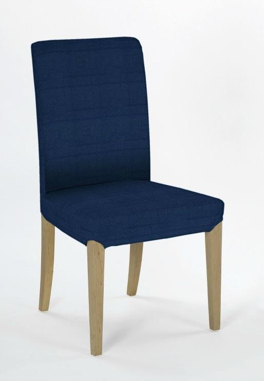 Σετ (2 Τμχ) Ελαστικά Καλύμματα Καρεκλών Με Πλάτη Tania-Μπλε