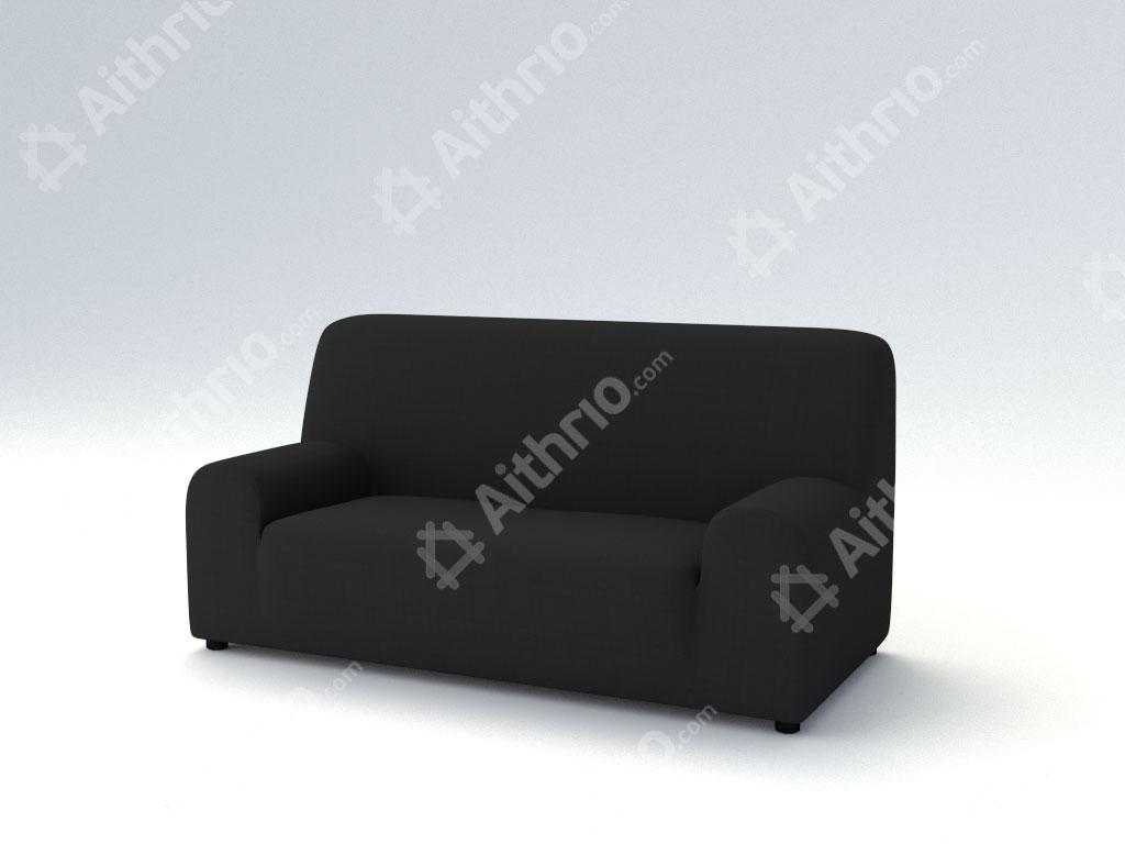 Ελαστικά καλύμματα καναπέ Tania-Τετραθέσιος-Μαύρο-10+ Χρώματα Διαθέσιμα-Καλύμματα Σαλονιού
