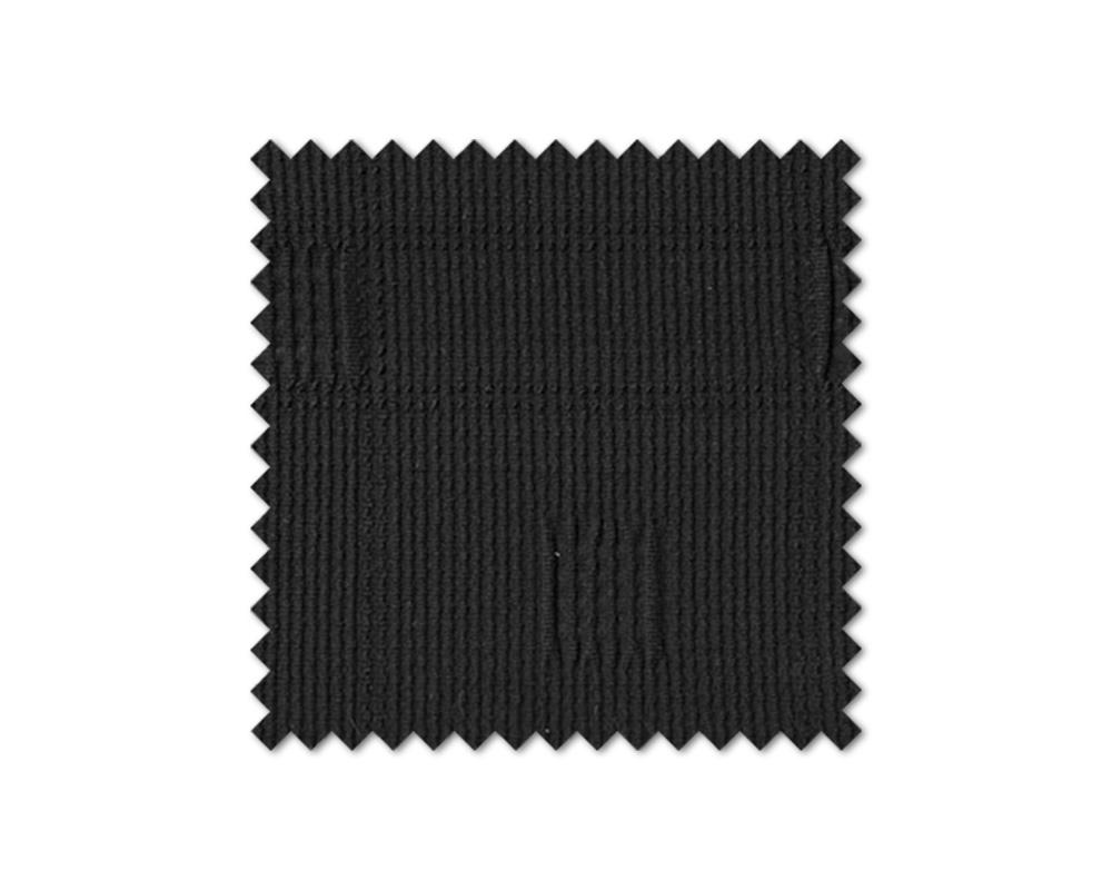 Σετ (2 Τμχ) Ελαστικά Καλύμματα Καρεκλών Με Πλάτη Tania-Μαύρο