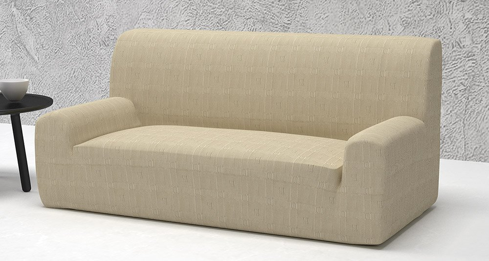 Ελαστικά καλύμματα καναπέ Tania-Διθέσιος-Ιβουάρ-10+ Χρώματα Διαθέσιμα-Καλύμματα Σαλονιού