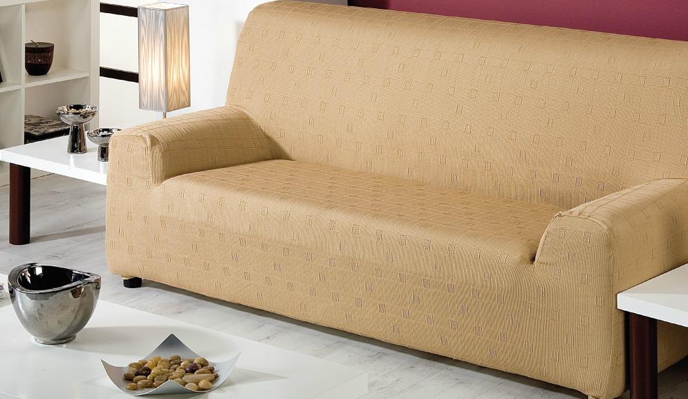Ελαστικά καλύμματα καναπέ Tania-Πολυθρόνα-Μπεζ-10+ Χρώματα Διαθέσιμα-Καλύμματα Σαλονιού