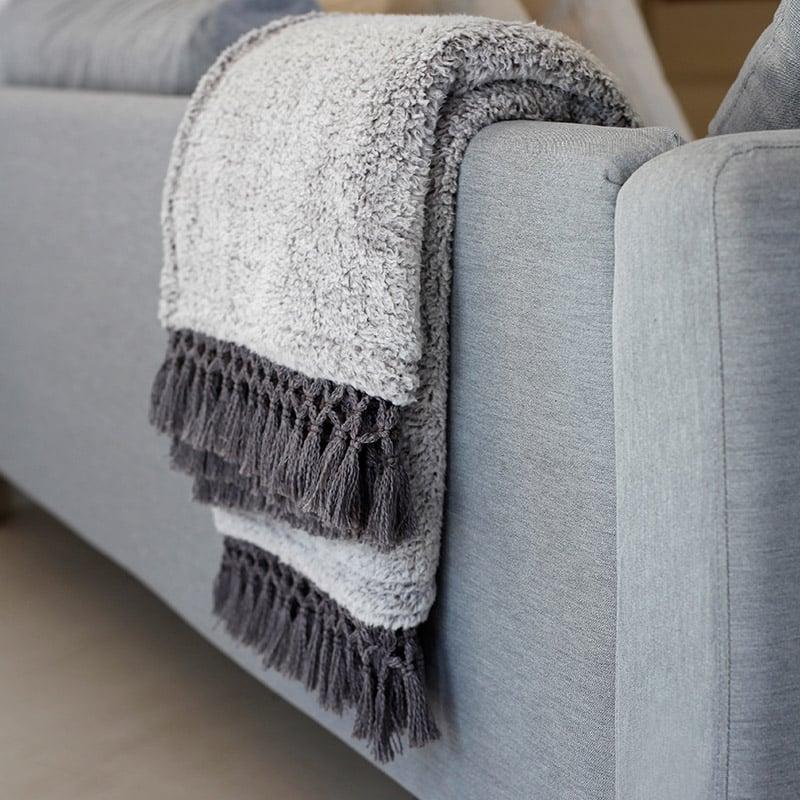Κουβέρτα Καναπέ 130X170 Melinen Twiggy Grey