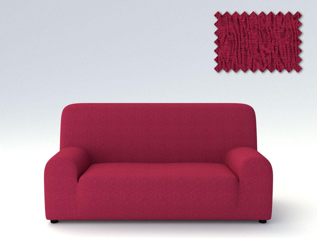Ελαστικά καλύμματα καναπέ Valencia-Πολυθρόνα-Μπορντώ-10+ Χρώματα Διαθέσιμα-Καλύμματα Σαλονιού
