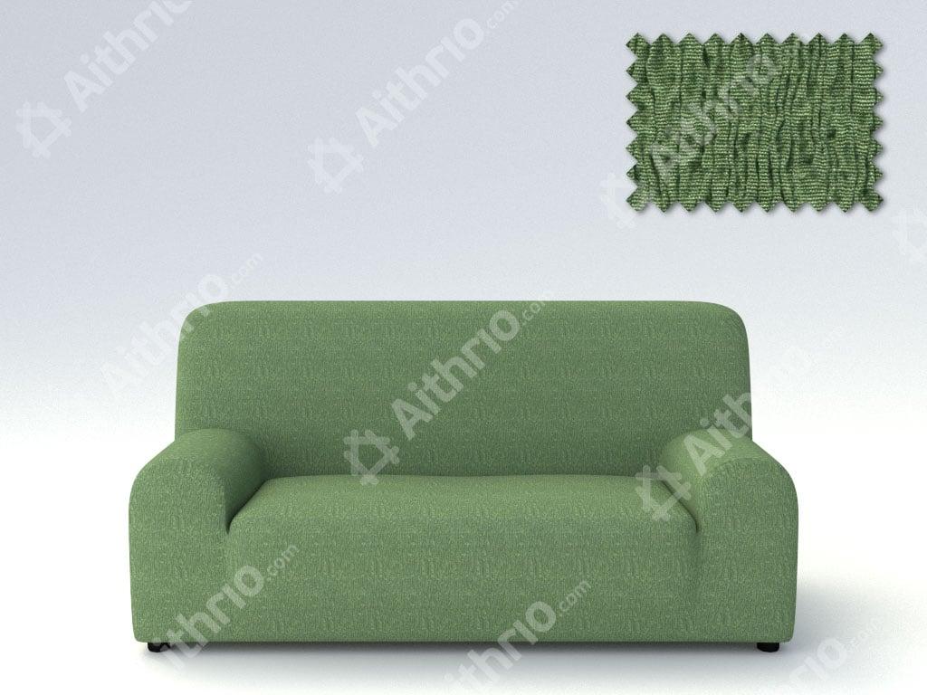 Ελαστικά καλύμματα καναπέ Valencia-Τετραθέσιος-Πράσινο