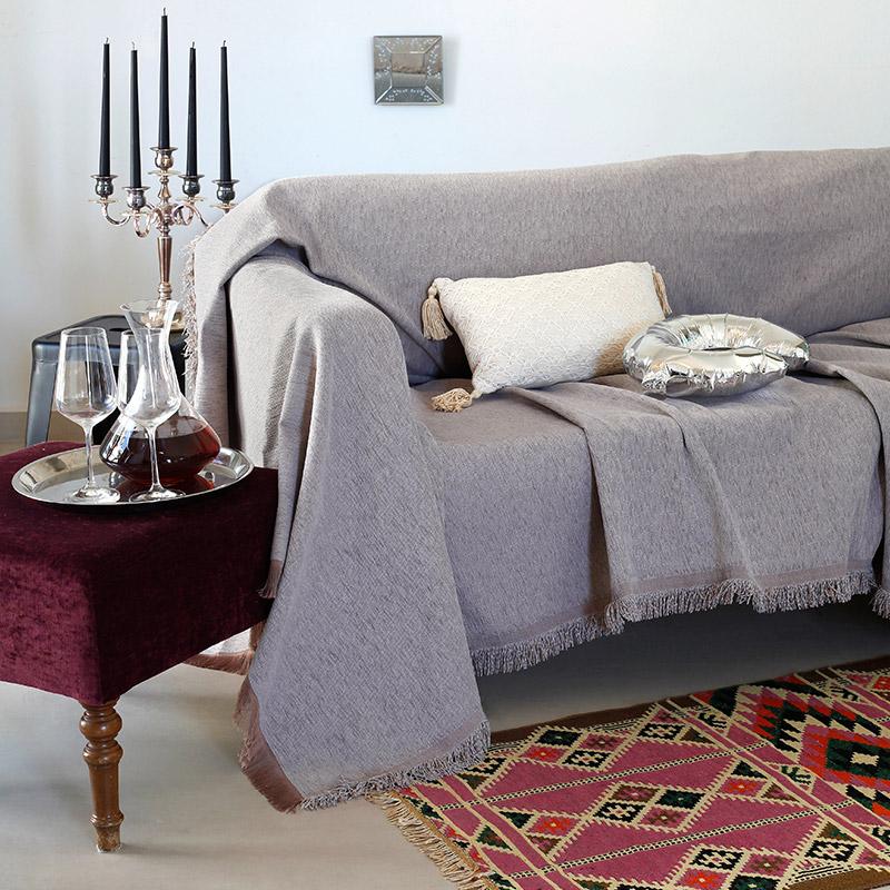 Διακοσμητική Μαξιλαροθήκη 40X40 Melinen Venezia Grey (40×40)