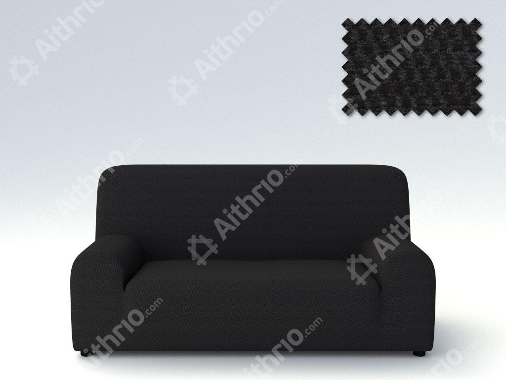 Ελαστικά Καλύμματα Προσαρμογής Σχήματος Καναπέ Viena – C/11 Μαύρο – Πολυθρόνα-10+ Χρώματα Διαθέσιμα-Καλύμματα Σαλονιού
