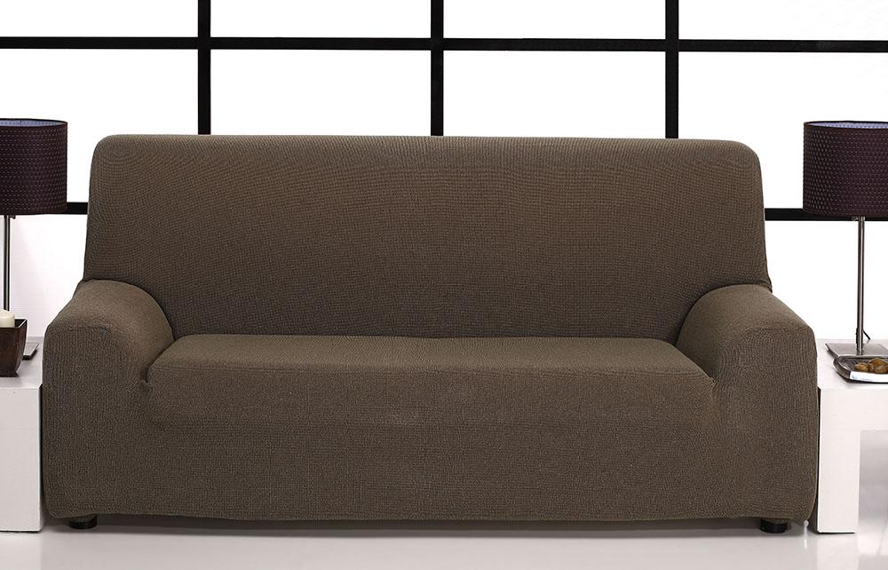 Ελαστικά καλύμματα καναπέ Zafiro-Τετραθέσιος-Καφέ-10+ Χρώματα Διαθέσιμα-Καλύμματ καλύμματα επίπλων καλύμματα καναπέ σαλονιού   πολυθρόνας